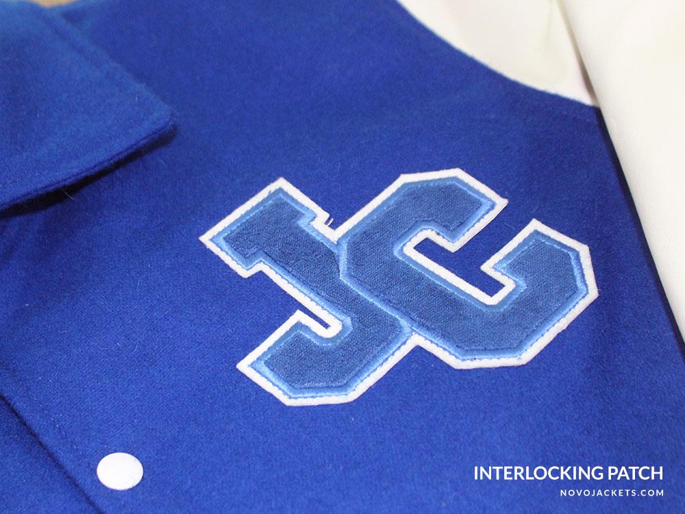 Interlocking Patch Example Letterman Jackets