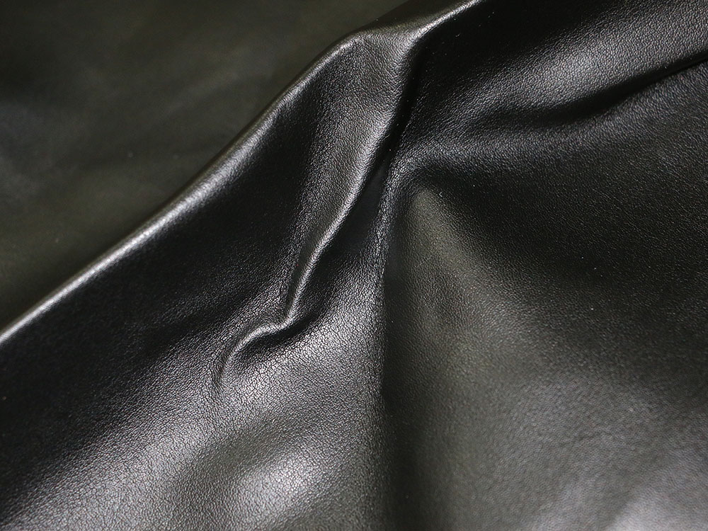 Black Faux Leather