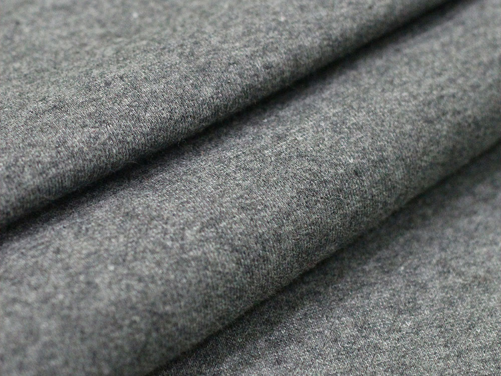 Gray Cotton Fleece