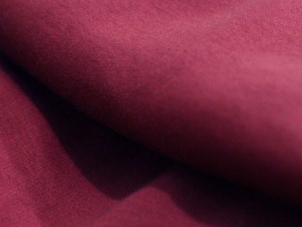Maroon Cotton Fleece