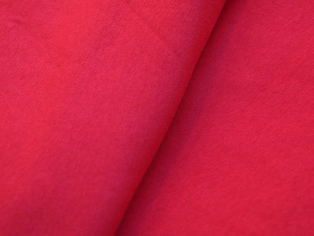 Red Cotton Fleece