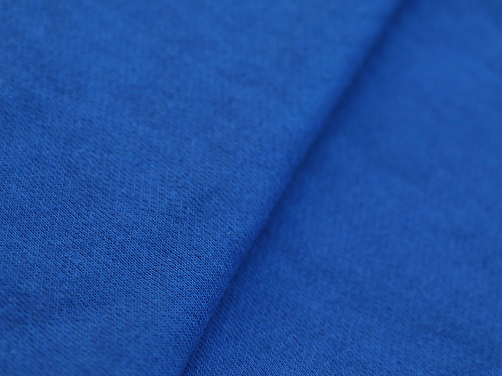 Royal Blue Cotton Fleece