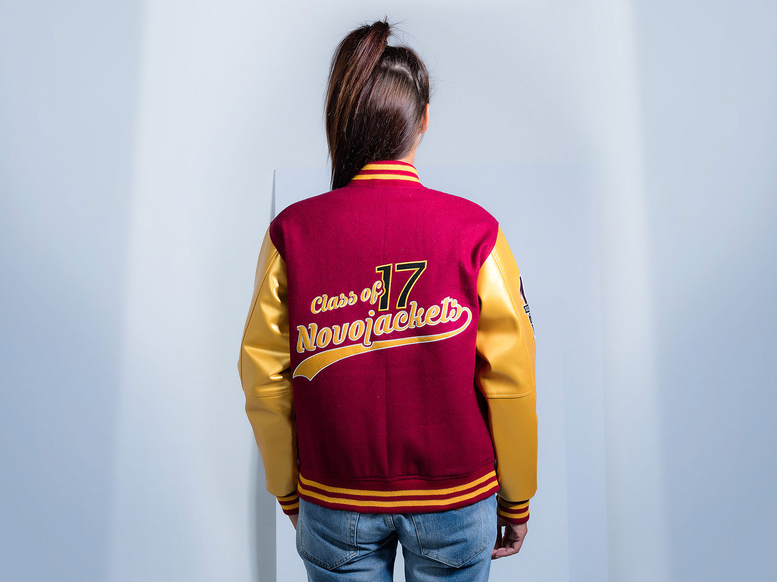 Custom Varsity Jacket for Women