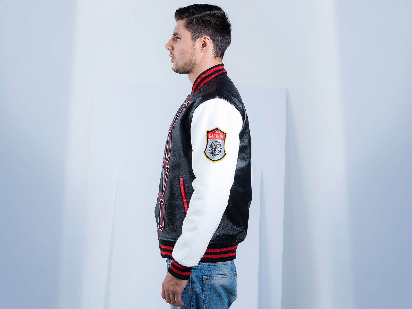 Genuine Custom Letterman Jacket Mens