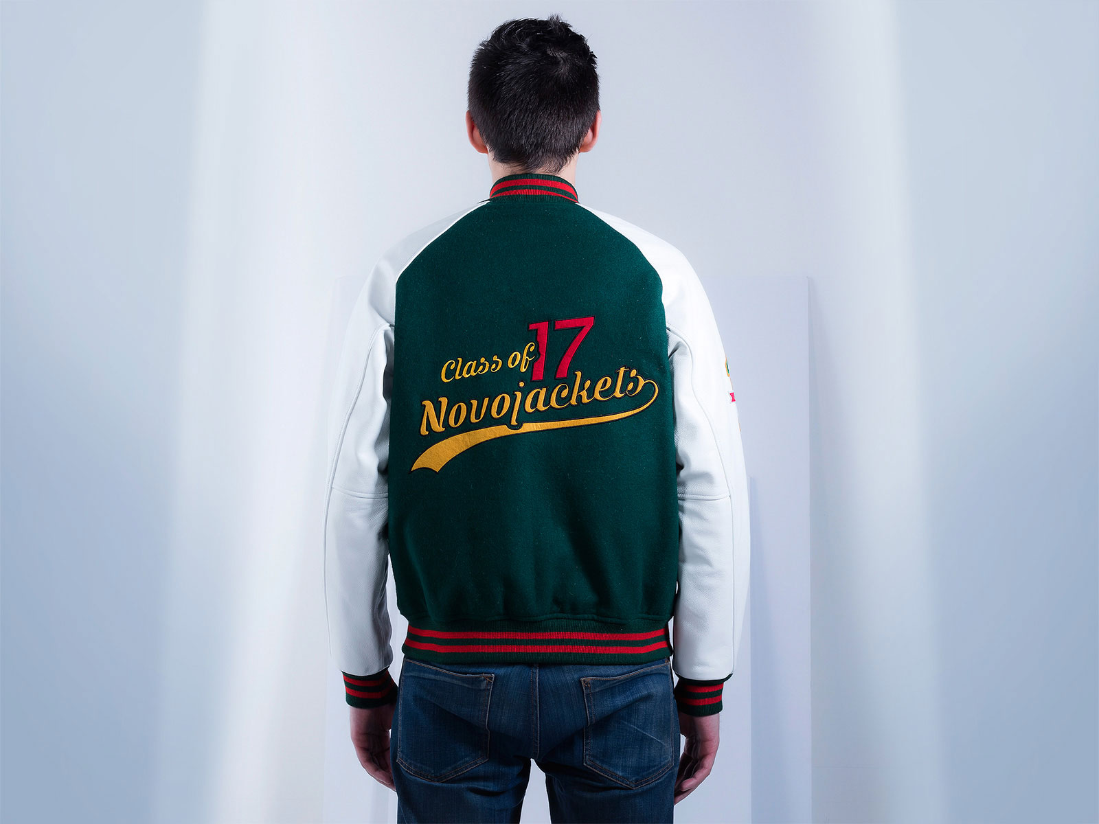 High School Varsity Jackets Raglan Sleeves