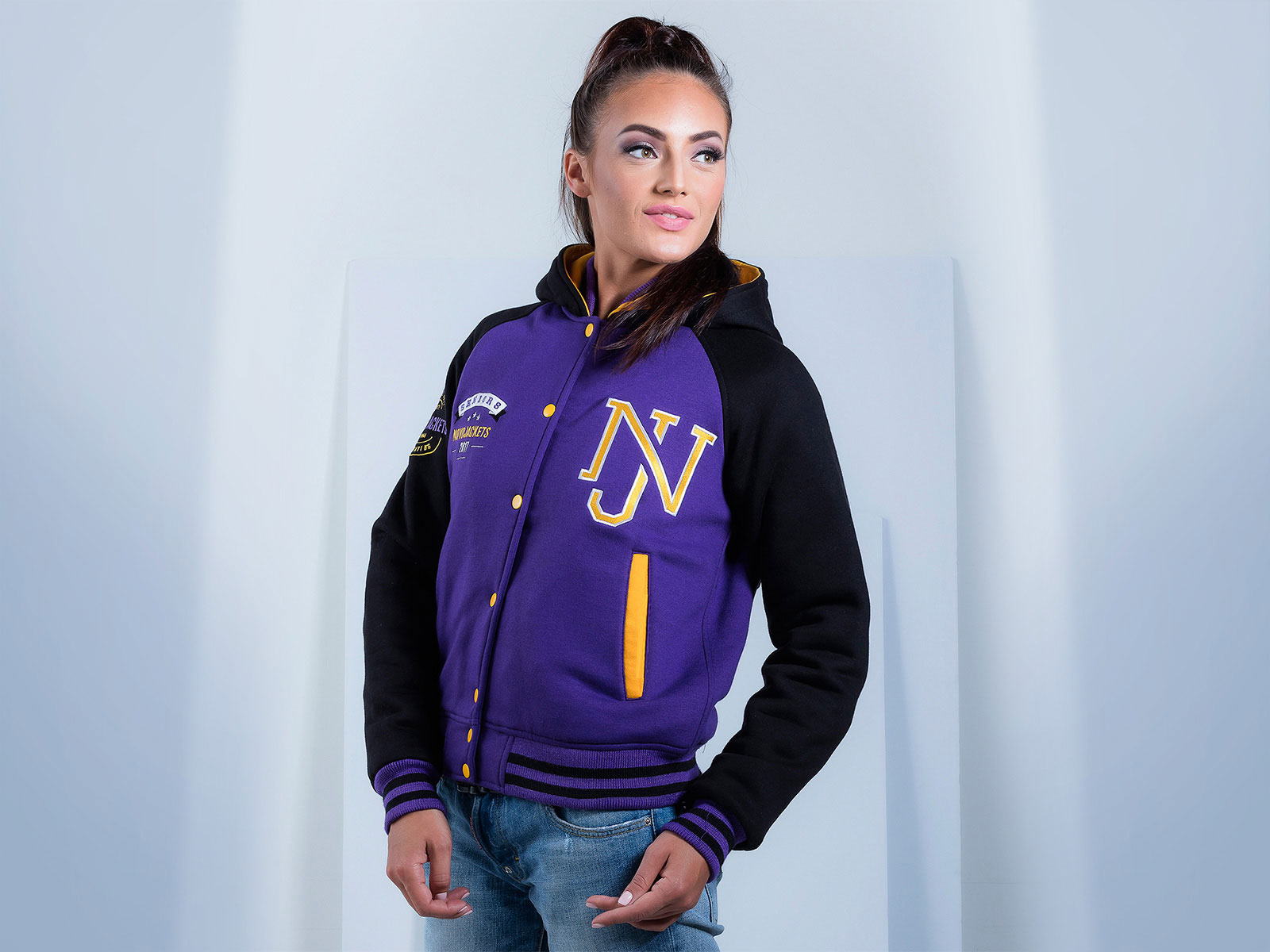 Women Cotton Fleece Custom Hoodie | Team Jackets