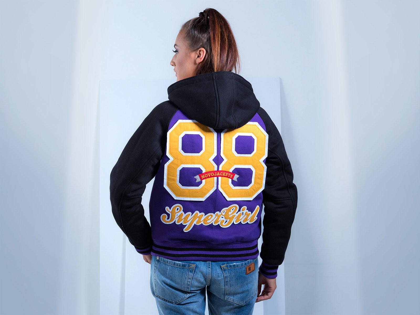 Cotton Fleece Hoodie Team Jackets Custom Hood