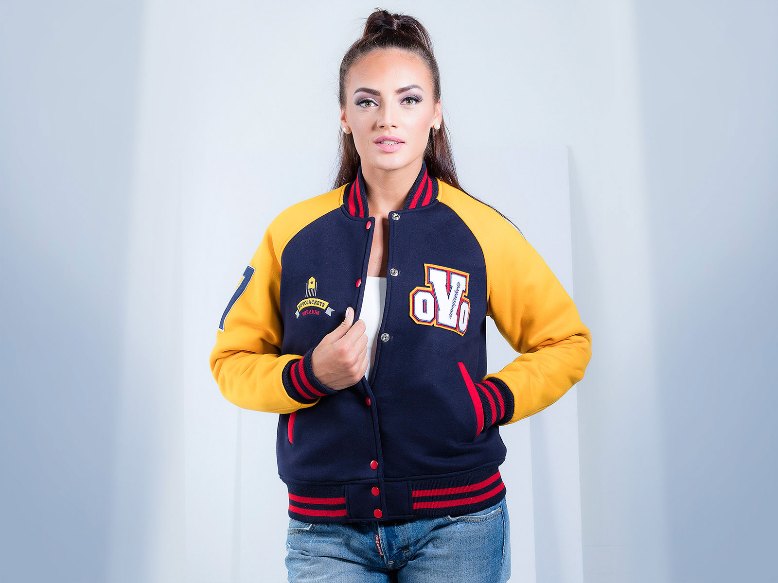 Personalize these letterman jackets with your own text and art. These jackets are No Minimums · Fast Shipping · Group Discounts · Excellent Print QualityTypes: Letterman Jackets, Bomber Jackets, Track Jackets.